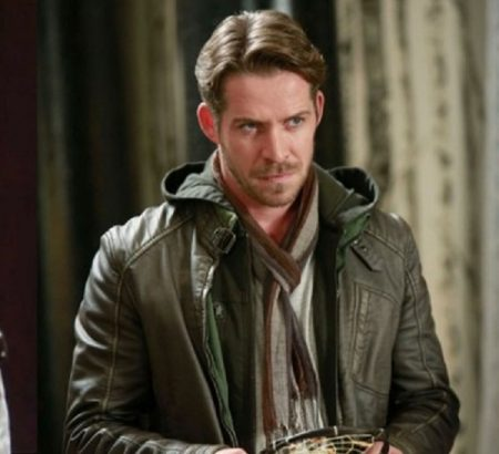 Sean Maguire Once Upon a Time Robin Hood leather Jacket
