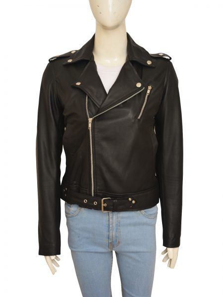 Stylish Kim Kardashian Biker Jacket