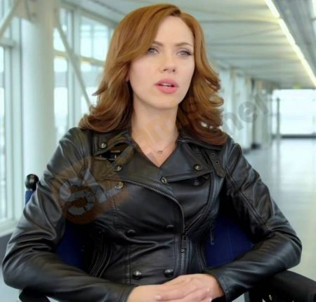 Movie Captain America Civil War Natasha Romanoff Black Widow Jacket