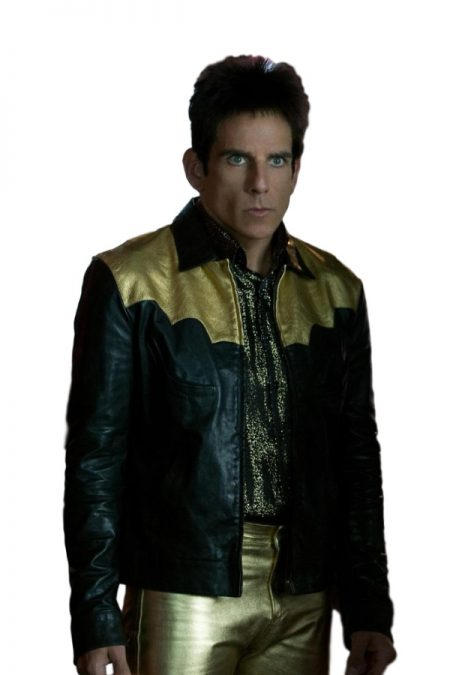 Zoolander Ben Stiller Derek leather Jacket