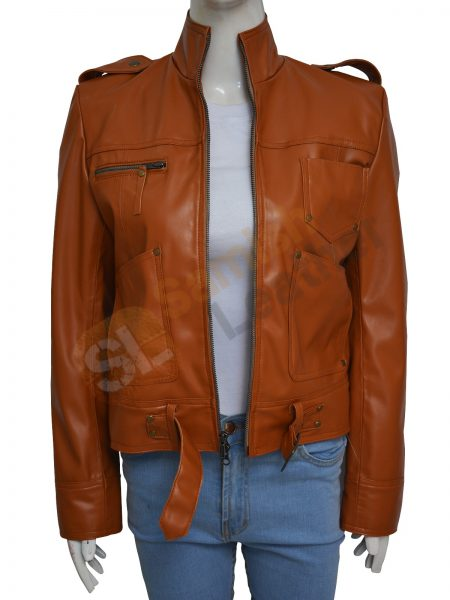 Once Upon A Time Season 4 Emma Swan Leather Jacket