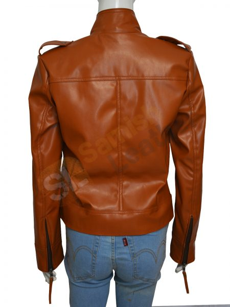 Obtain Once Upon A Time Season 4 Emma Swan Leather Jacket