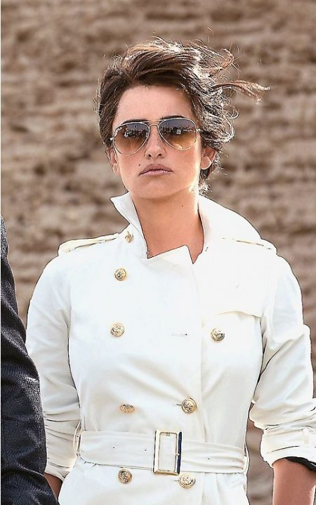 Penélope Cruz Zoolander cotton Coat