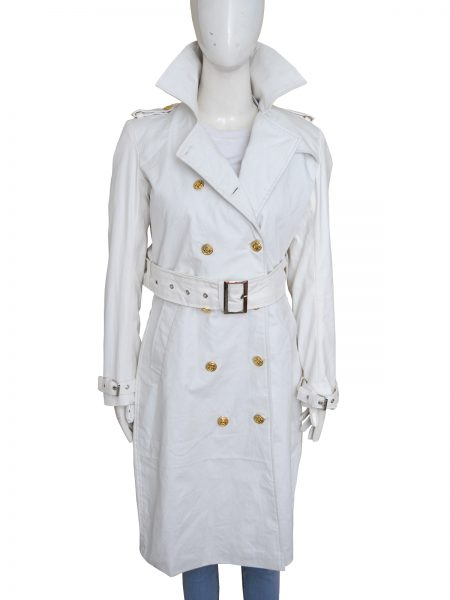 Obtain Zoolander 2 Penelope Cruz Trench Cotton Coat