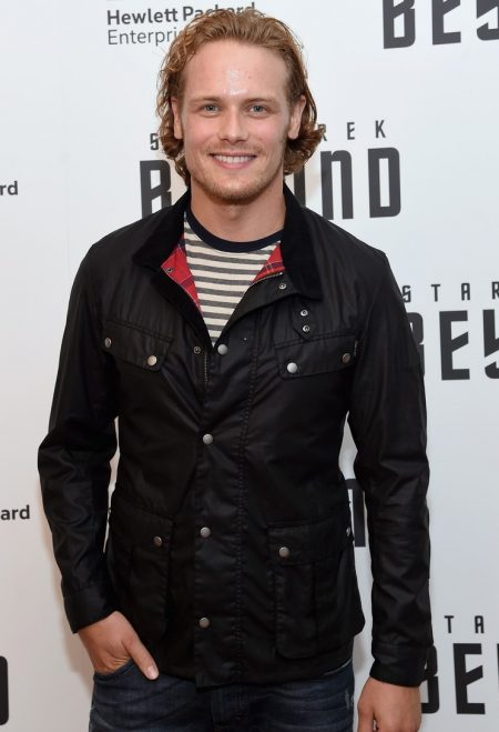 Star Trek Premiere Sam Heughan Jacket