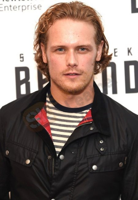 Film Star Trek Beyond Premiere Sam Heughan Satin Jacket