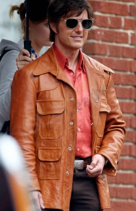 Get American Made Tom Cruise leather Jacket