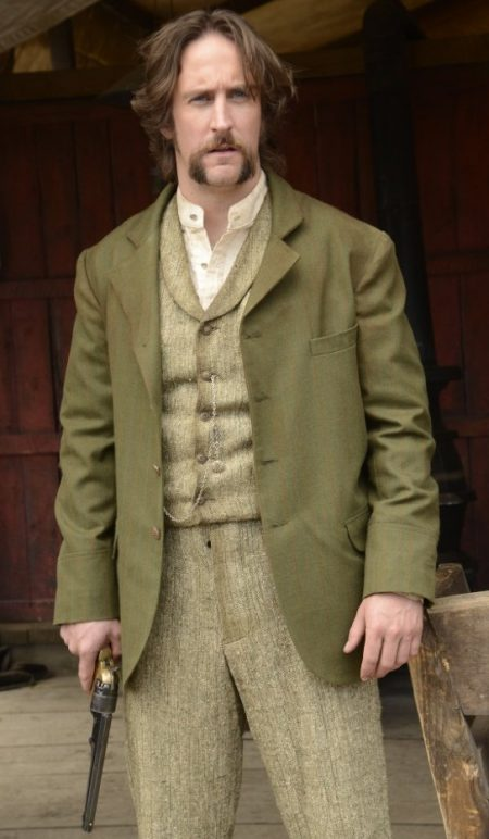 Phil Burke Hell on Wheels Coat