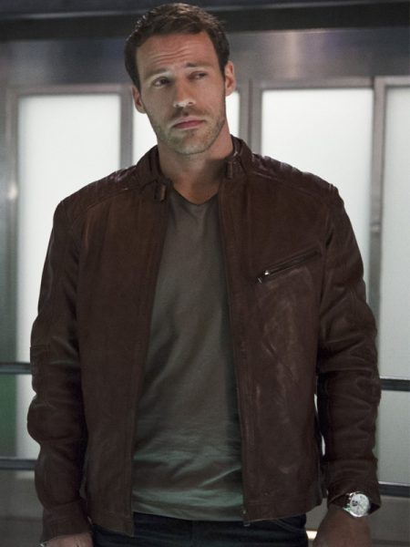 The Flash Carter Hall Leather Jacket