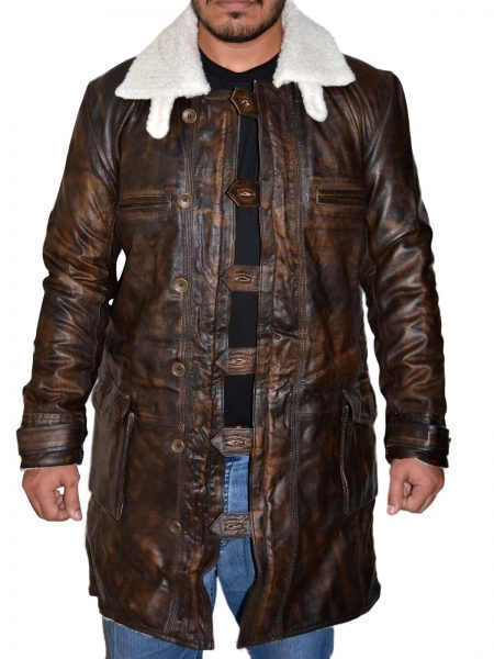 Obtain The Dark Knight Rises Bane leather Coat