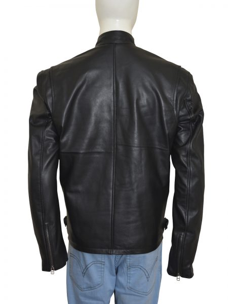 Get Classic Motorcycle Racer leather Jacket