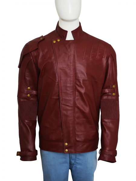 Star Lord Galaxy 2 Peter Quill leather Jacket