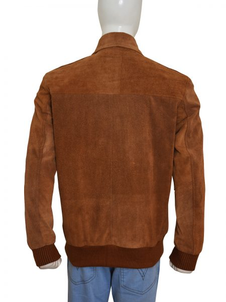 2015 American Ultra Mike Howell Suede Leather Jacket