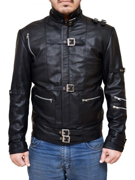 Singer Michael Jackson Black Jacket