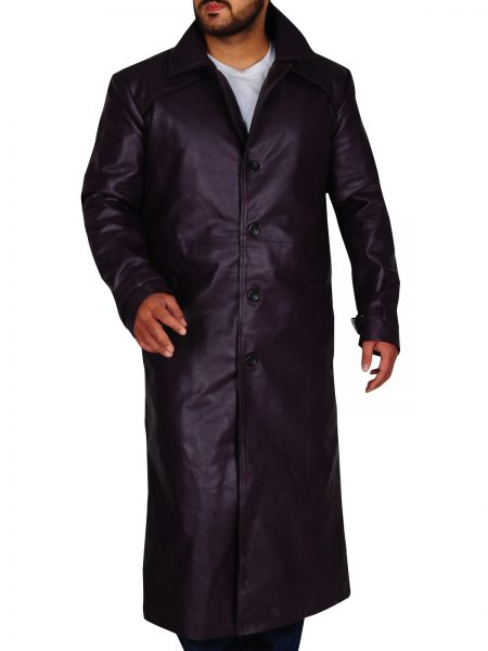 Resident Evil 5 Albert Wesker Purple Coat