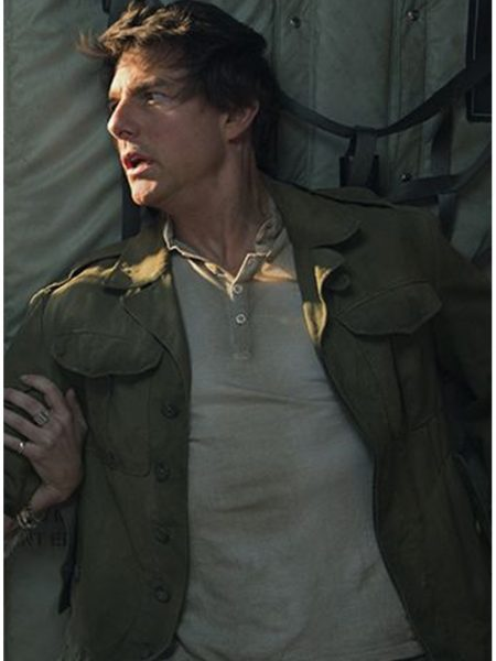 The Mummy Tom Cruise Nick Morton Jacket