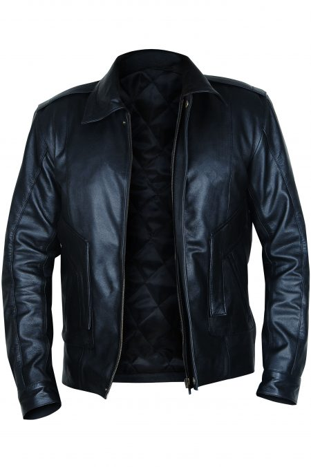Kyle MacLachlan Twin Peaks leather Jacket