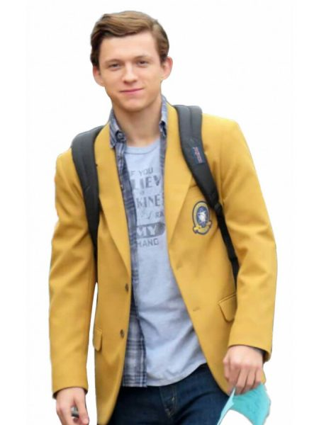 Peter Parker Spiderman Homecoming Coat