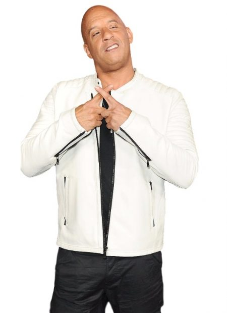 Vin Diesel xXx Return of Xander Cage Premier White Jacket