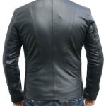 Classyak Men Fashion Black Point Jacket