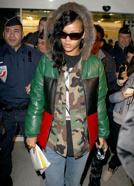 Supreme Rihanna Leather Jacket