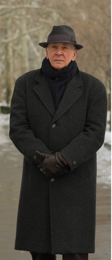 The Americans Frank Langella Coat