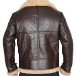 RAF B3 Shearling Sheepskin Bomber Leather Jacket
