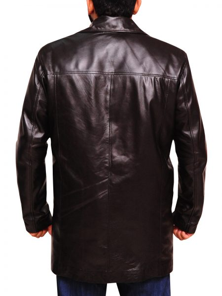 TV Series The Wire McNulty Dominic West leather Coat (1)