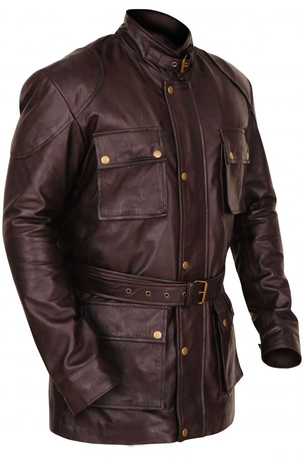 Button Brad Pitt Jacket