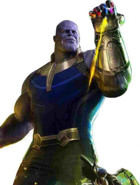 Avengers Infinity War Thanos Costume Leather Vest