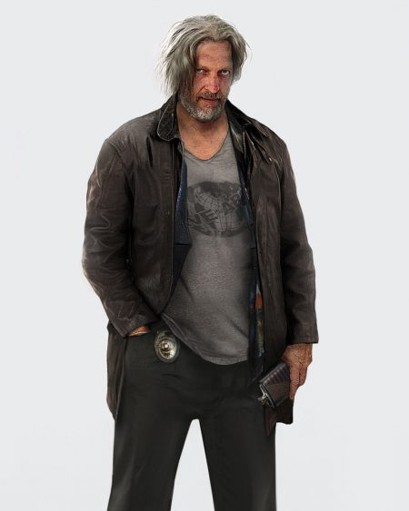 Detroit Become Human Clancy Brown Jacket