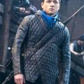Robin Hood Quilted Blue Jacket