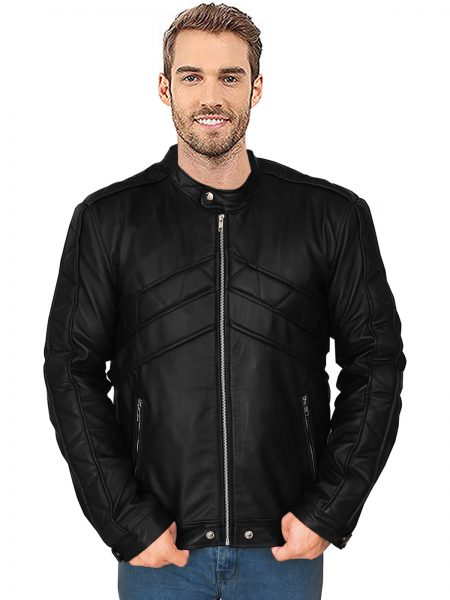 The Tomorrow People Luke Mitchell Leather Jacket