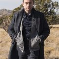 Kieran Culkin Succession Wool Coat