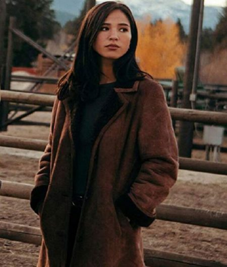 Monica Dutton Yellowstone Shearling Coat