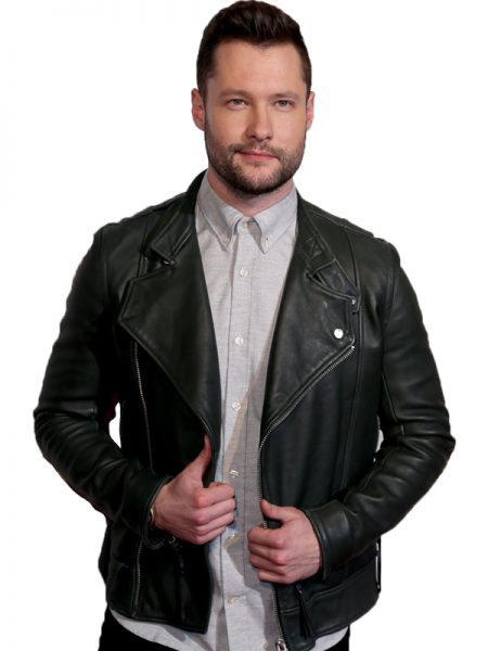 Famous Singer Calum Scott Black Leather Jacket