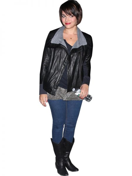Norah Jones Leather Jacket (2)