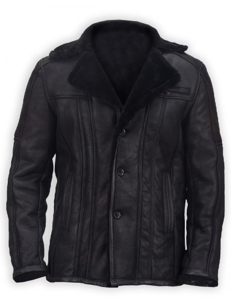 Stylish Double Face Shearling Leather Coat