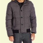 Arctic Cloth Quilted Snorkel Bomber Jacket