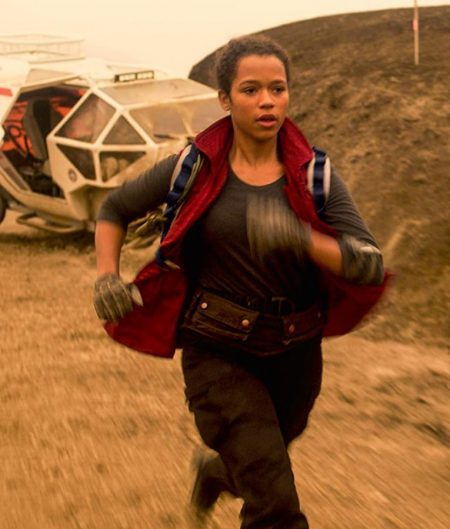 Taylor Russell Lost in Space Judy Robinson Vest