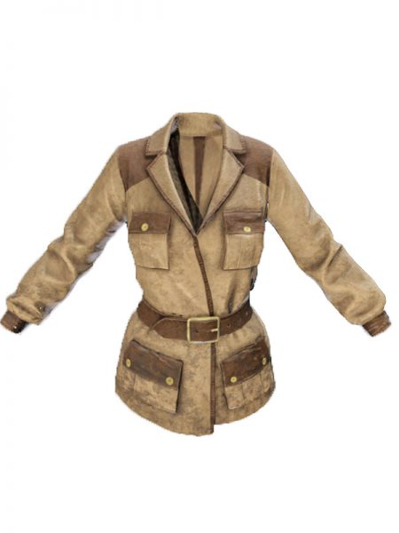 PUBG Mobile Hunter Leather Jacket