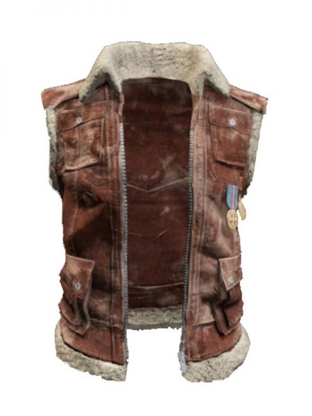 PlayerUnknown Battlegrounds PUBG Mobile Sleeveless Biker Jacket