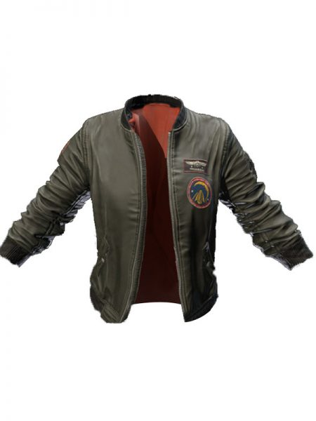 PUBG Mobile Untitled Faux Leather Jacket