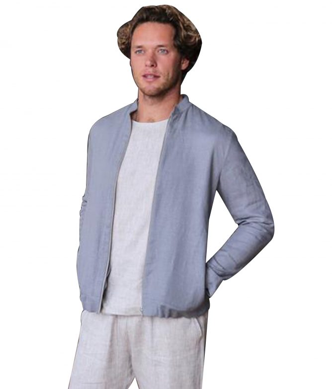 Mens Linen Light Jacket