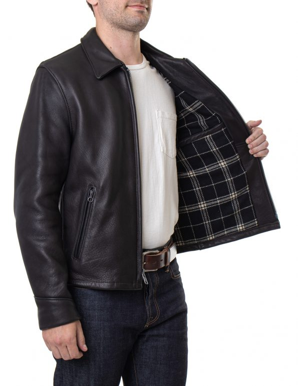 Men's Black Real Leather Rider Jacket3