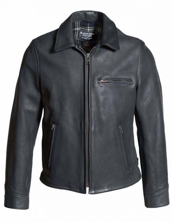 Men's Black Real Leather Rider Jacket5