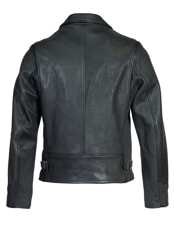 Men's Black Real Leather Rider Jacket6